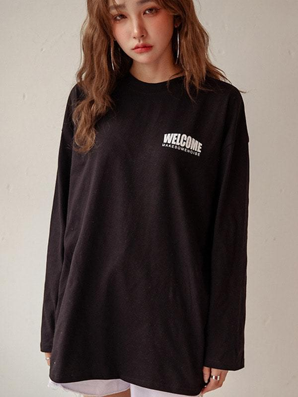 Welcome Boxsee Long Sleeve T-shirt
