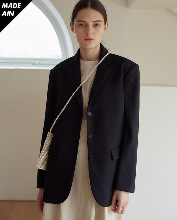 FRESH A simply mannish jacket