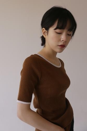 color scheme half knit (4colors)