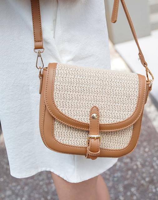 Browning Rattan Bag