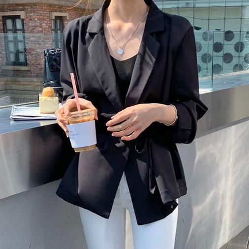 Chiffon light blouse jacket