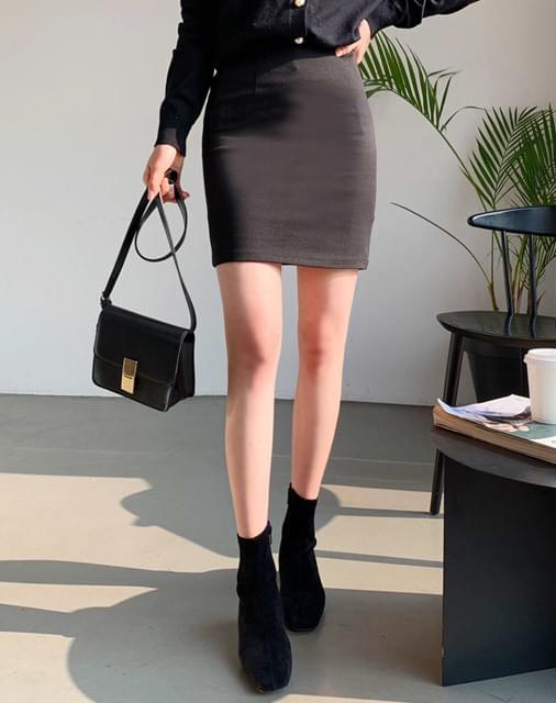 Never Ever Mini Skirt
