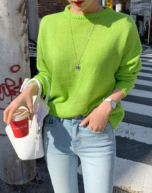 Fuse round knit