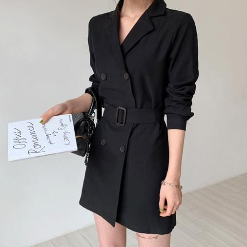 Hazel mini jacket dress