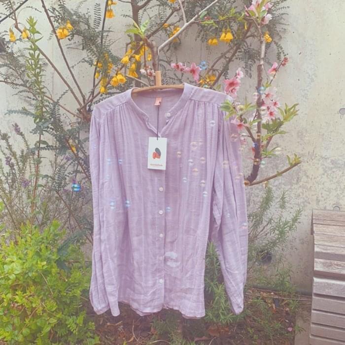 Marmalade ♥ .droplets shirring blouse