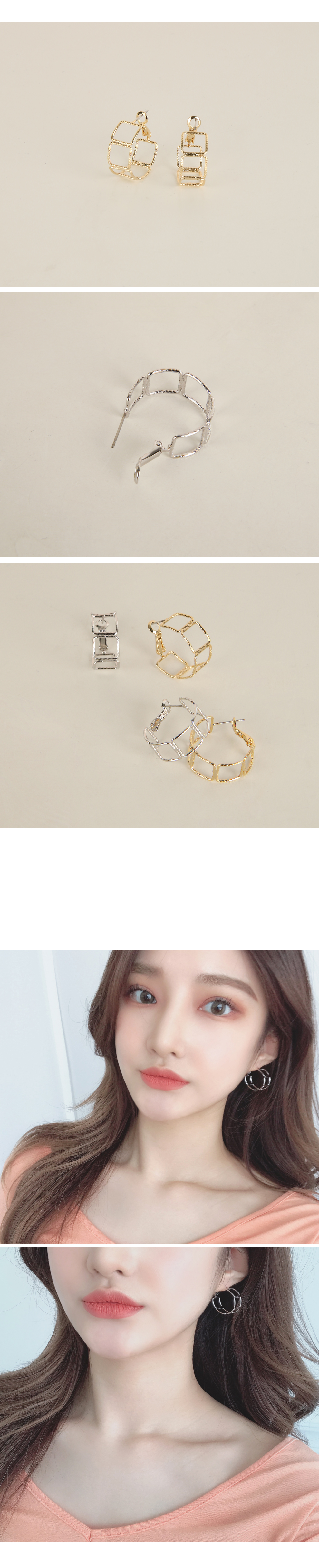 Leon chain earrings