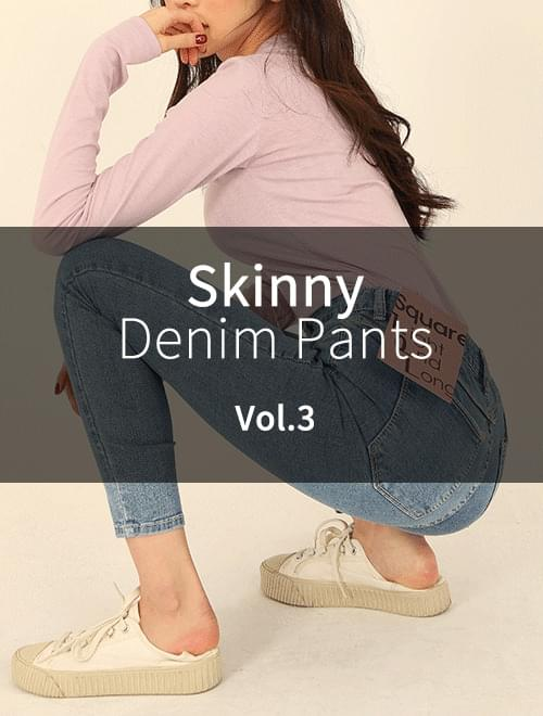 ♥ Re-Purchase Rate 1st ♥ Skinny Fit Vol.3
