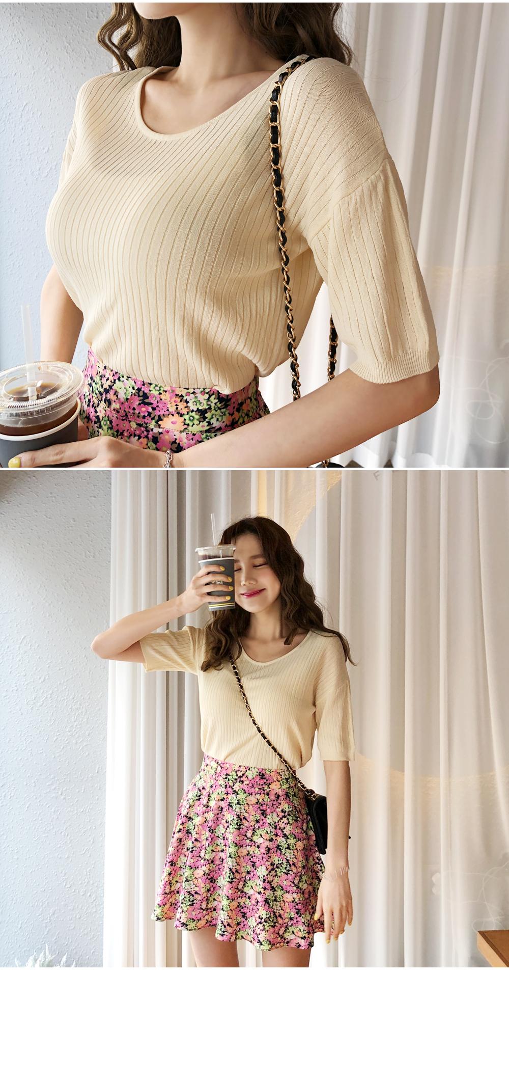 Color pop lining pants skirt