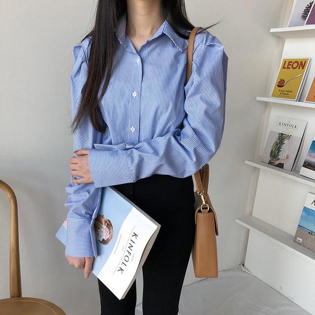Coco puff shirt blouse