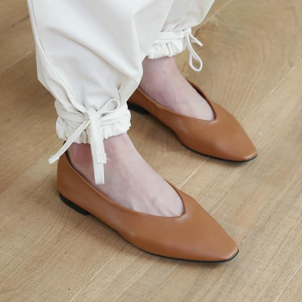 Salon flat shoes