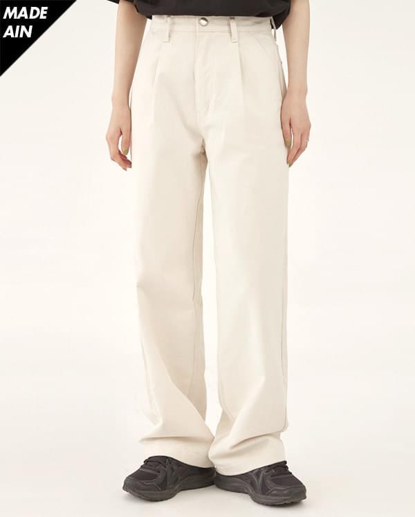 FRESH A pintuck cotton pants (s, m, l)