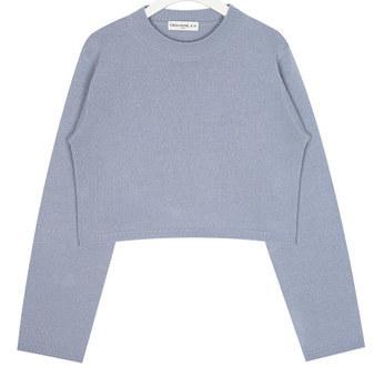 FRESH A round crop knit
