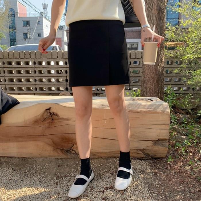 MMMM / side vent skirt