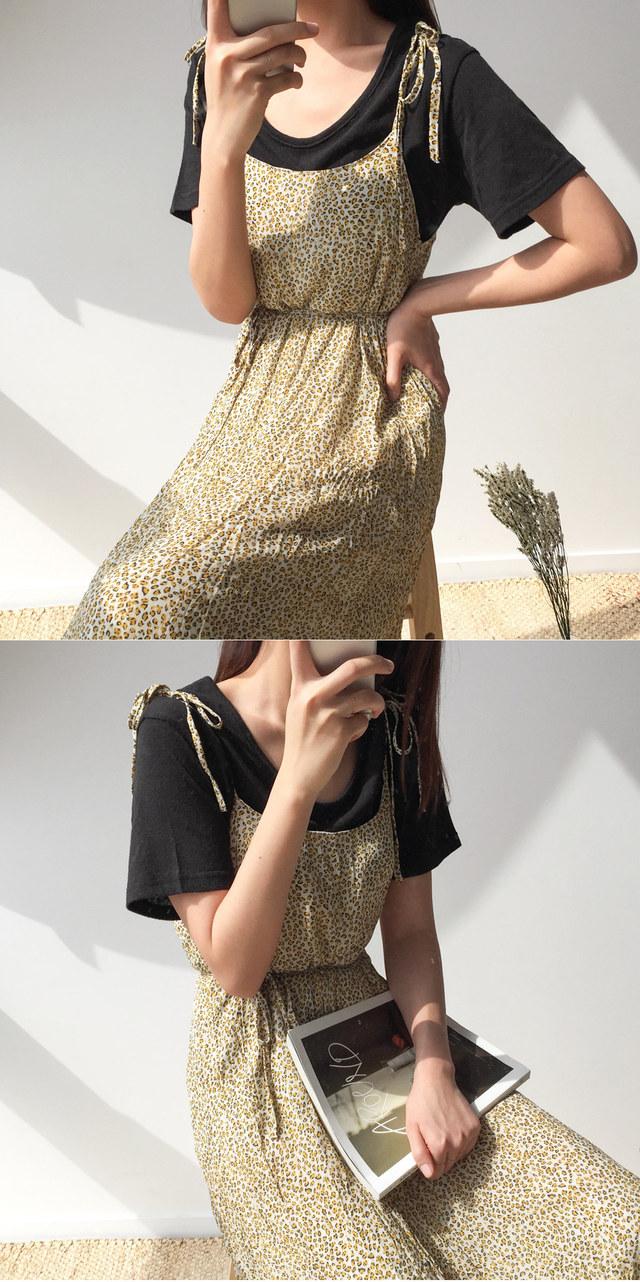 Hopi Shirring Tape Dress