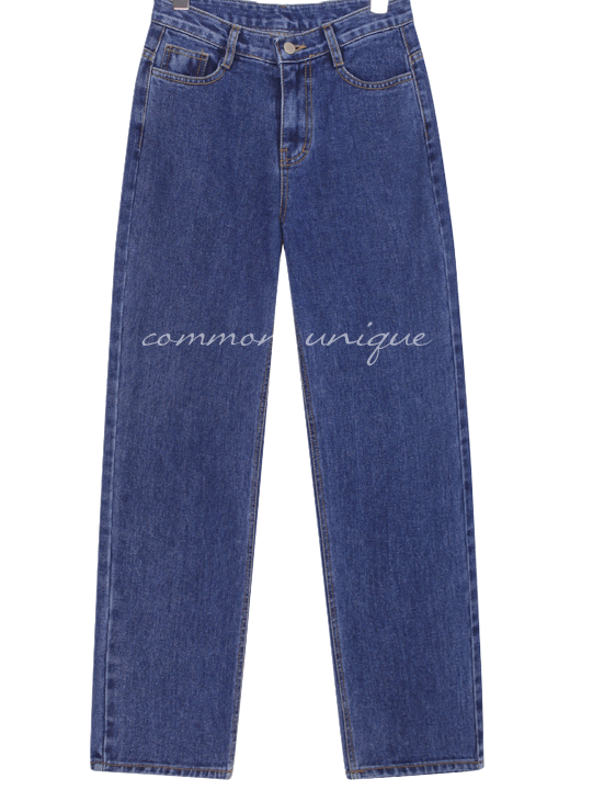 FIX WIDE BAGGY DENIM PANTS