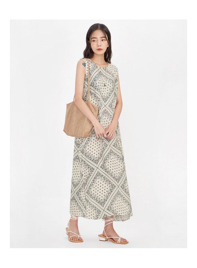 ethnic sleeveless ops