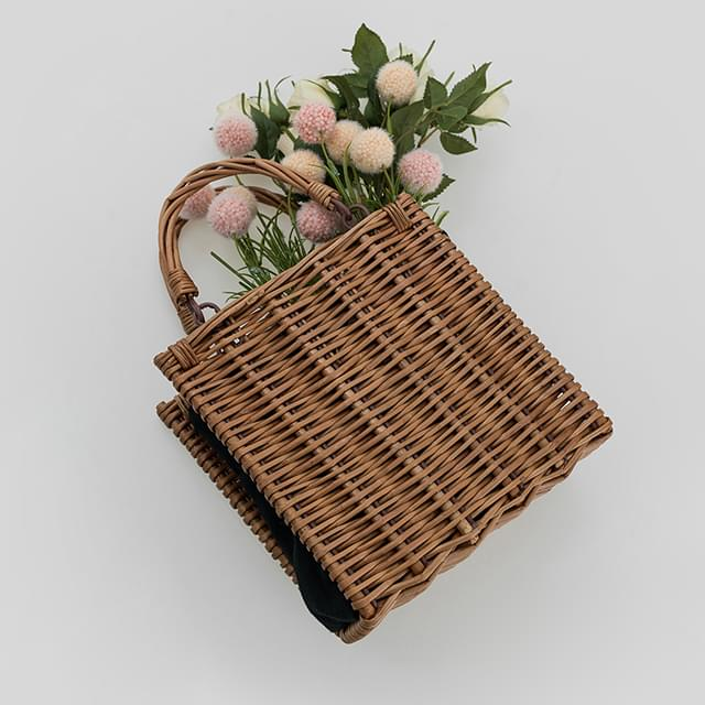 cozy rattan bag