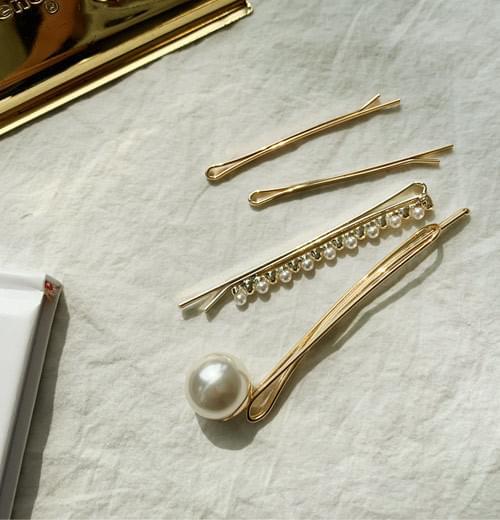 Bering pearl hairpin set