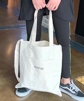 韓國空運 - Turiss pocket Eco bag 帆布包