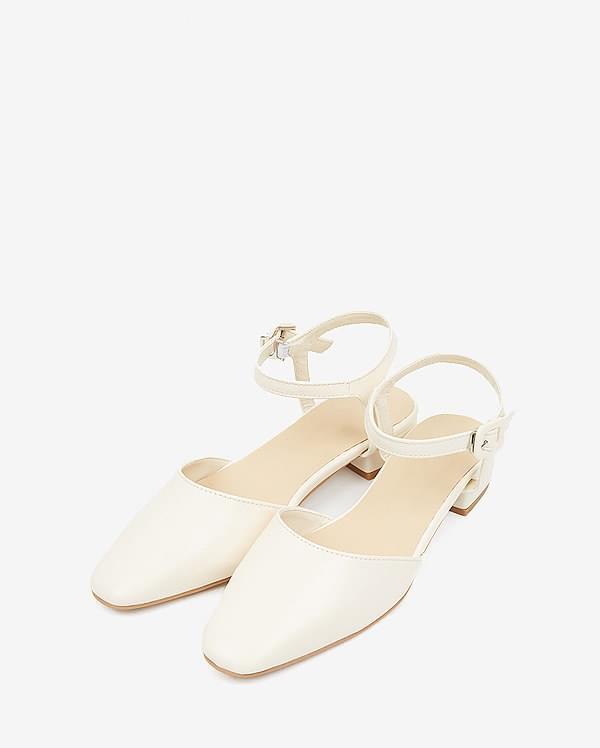 pastel strap loafer