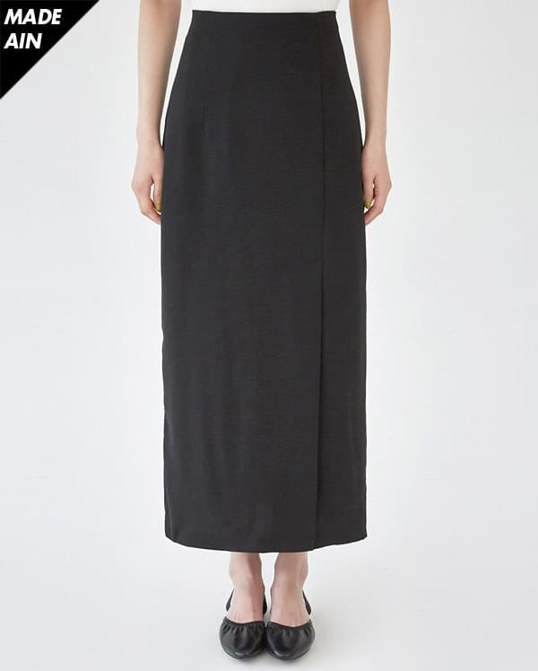 FRESH A long slit skirt