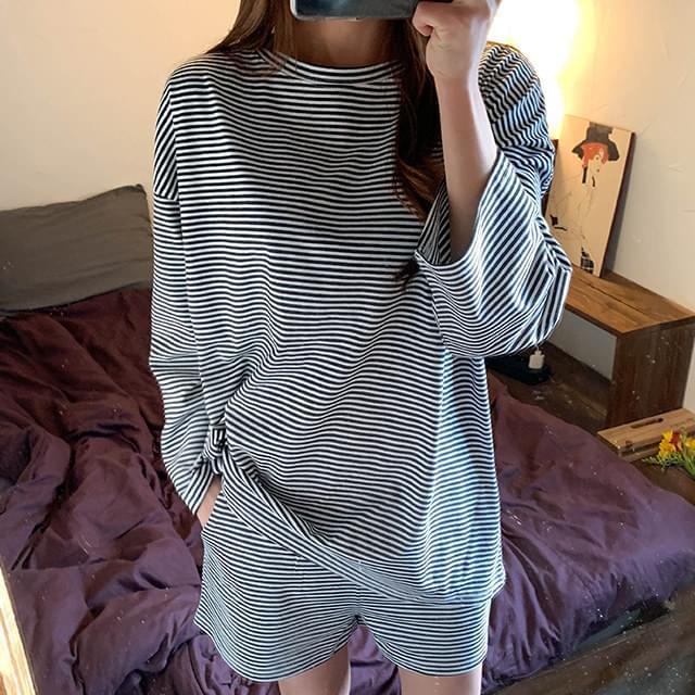 Stripe Jeans T-Shirts & Shorts
