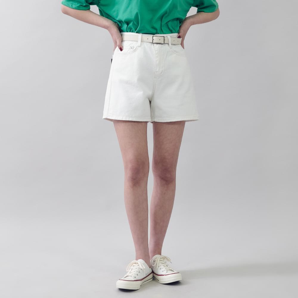 High-waisted cotton pants 3