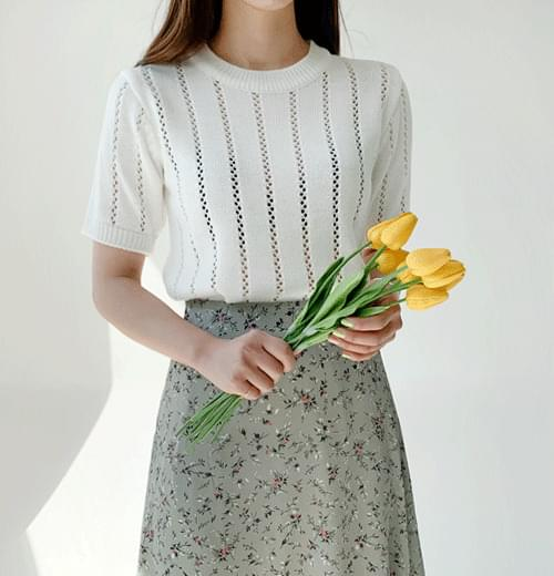 Ending pastel knit 5