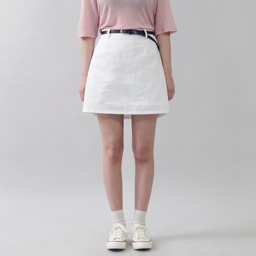 Ando O Cotton Skirt Belt set