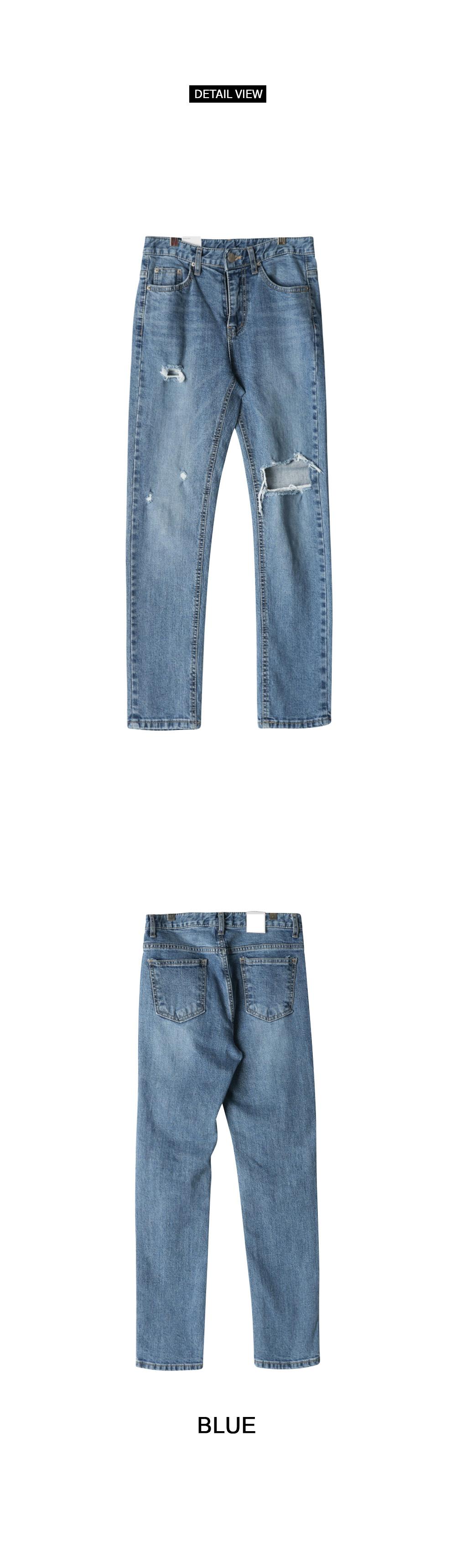 Clover Date Denim Pants