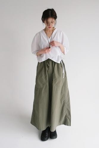 vintage cotton long skirt