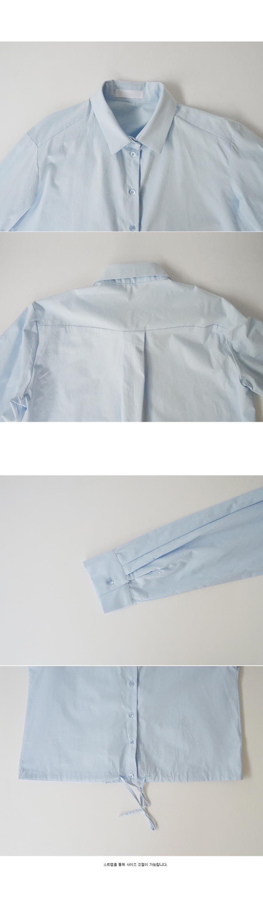 kitsch mood string shirt