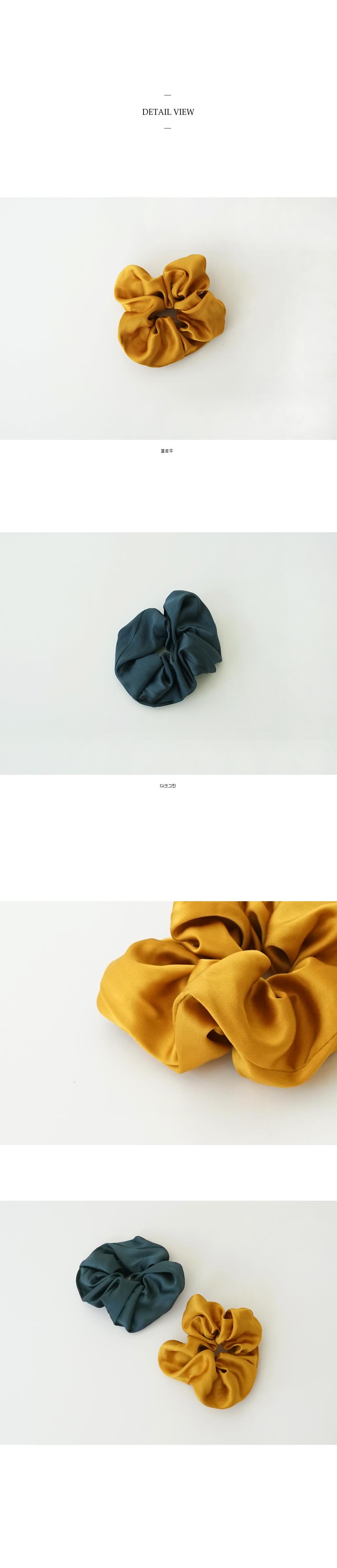 twist hair scrunchie (2colors)