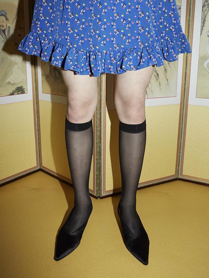 stiletto babouche heels