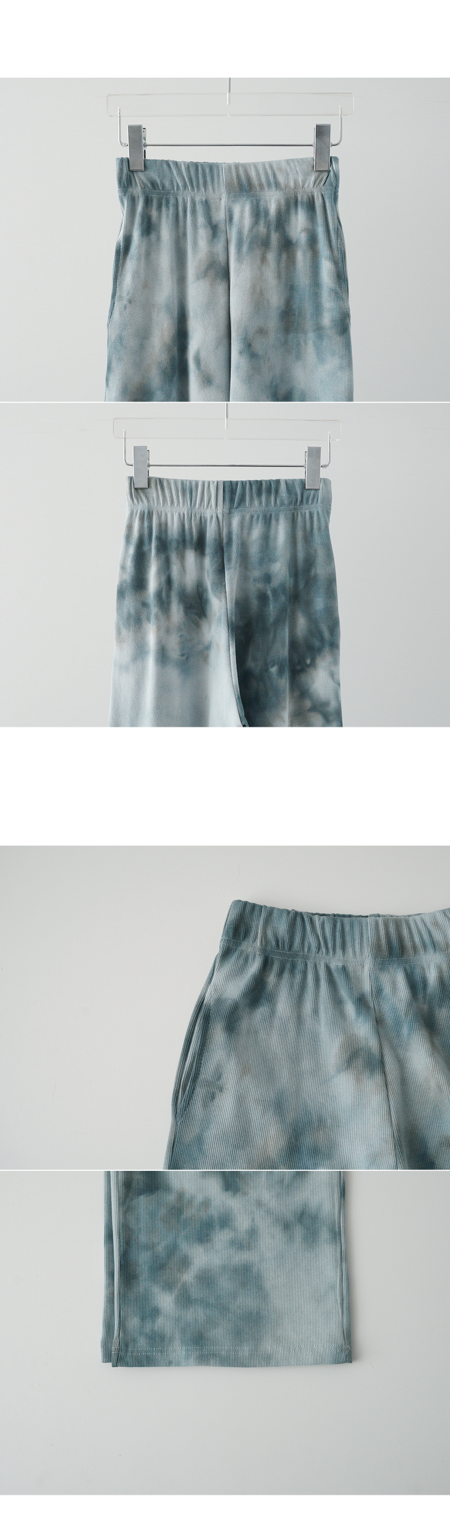 watery dyed golgi banding pants