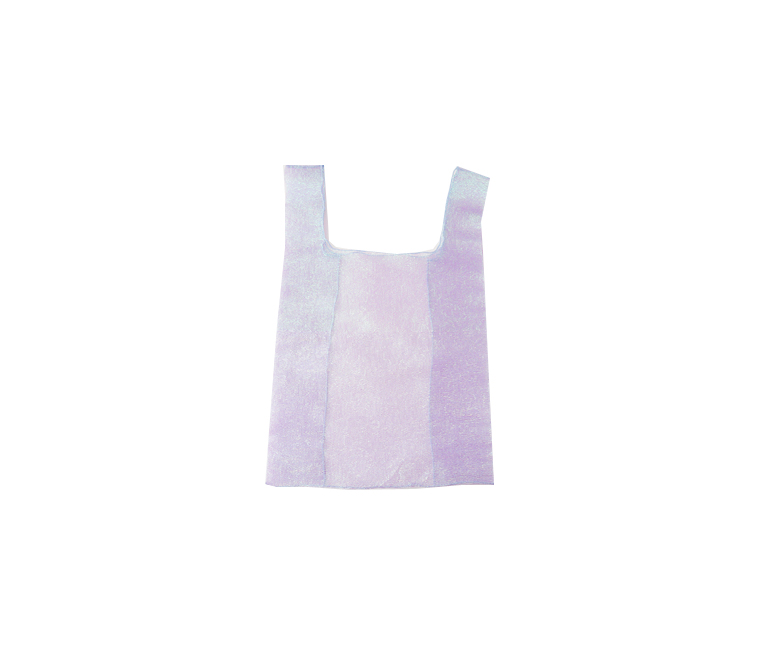charming see-through tote bag