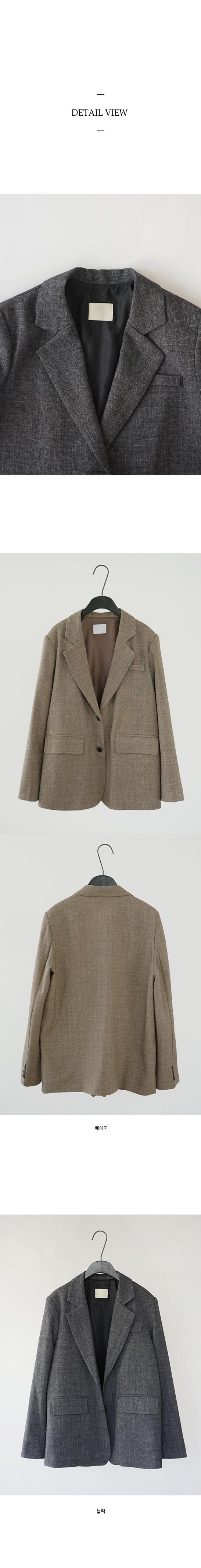slight check jacket (2colors)