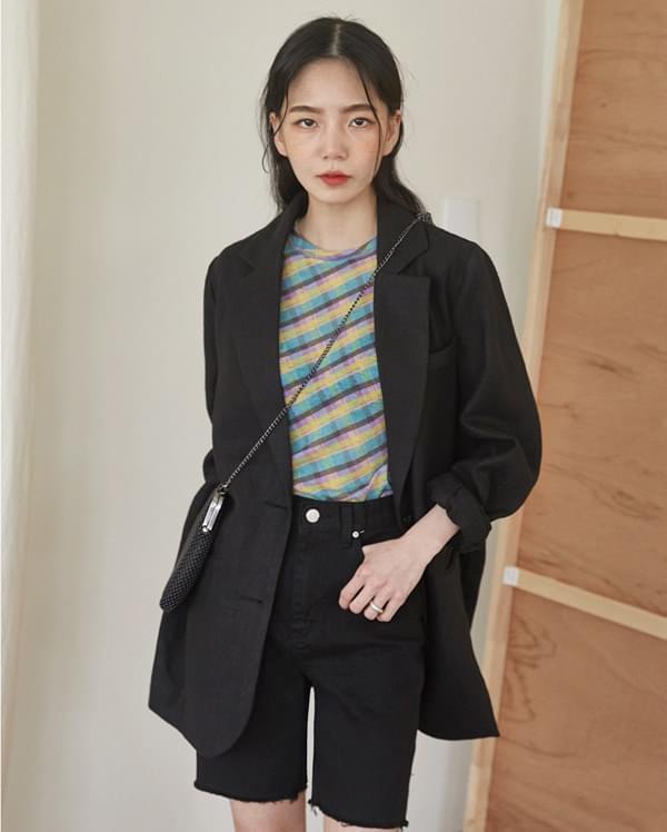marant natural linen jacket