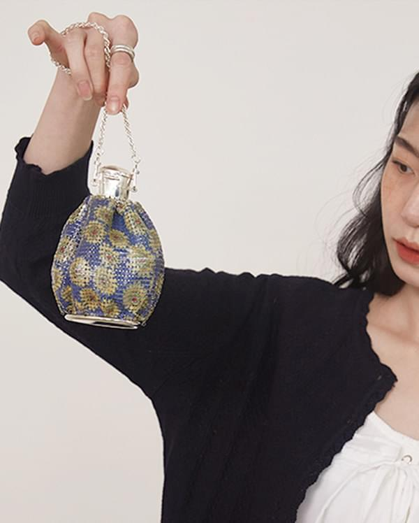 graceful vintage mirror bag
