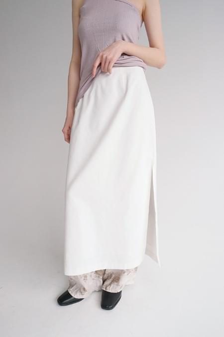 cotton h-line skirts