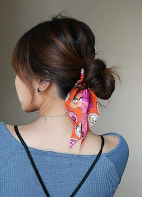 Scarf Hair Band