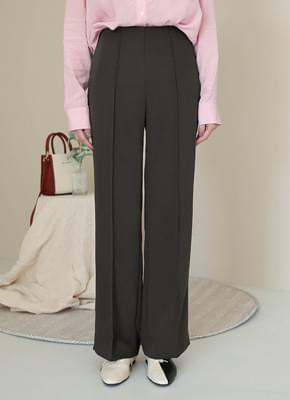 Side zipper Slacks