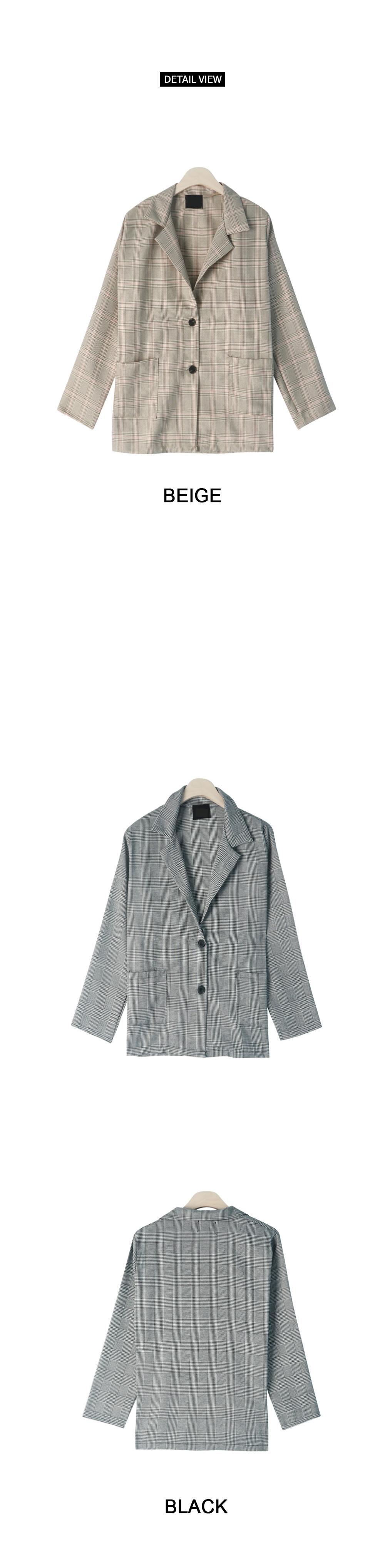 Ada spring check jacket