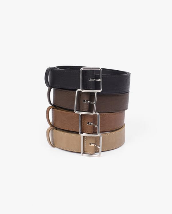 matte square belt