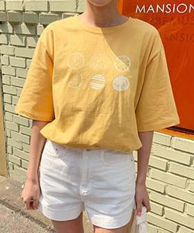Orange Short Sleeve T