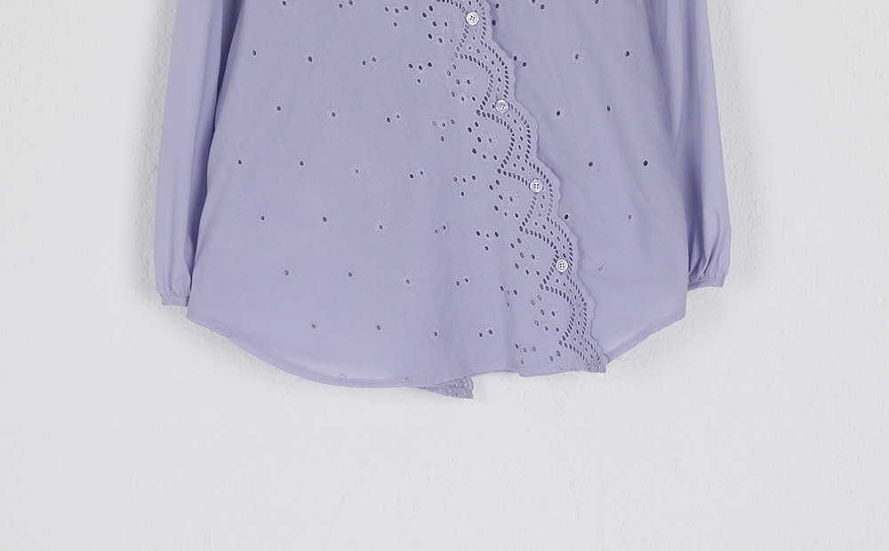 lace cover blouse