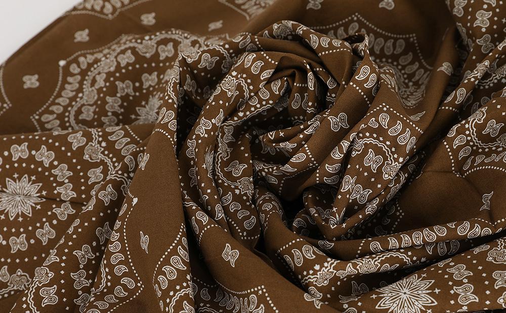 bandanna scarf top