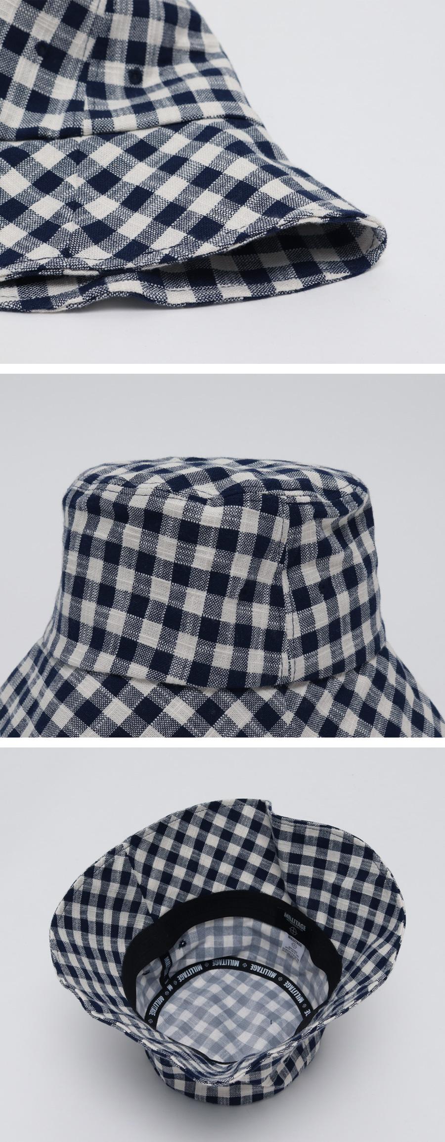 May check bucket hat_B