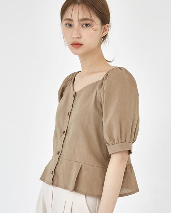 holic puff sleeve blouse