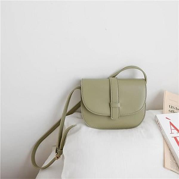 Simple Round Cross Bag